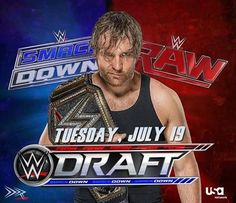 Which show will he be drafted? This whole draft thing actually excites me. Reminds me of old school WWE