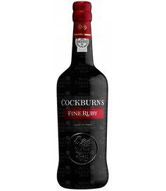 Vinho do Porto Tinto Português Cockburns Fine Ruby | Menu Especial R$65,90