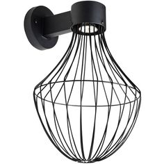 """Besa Sultana 17 3/4"""" High Black Flare LED Outdoor Wall Light ($270) ❤ liked on Polyvore featuring home, outdoors, outdoor lighting, black, outside light, outside patio lights, black outdoor lights and outdoor black light"""