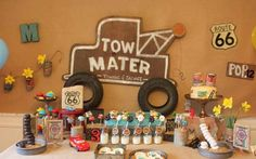 cars radiator springs birthday party - part of 10 boy party ideas you will love www.spaceshipsandlaserbeams.com