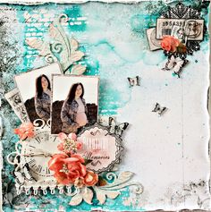 July Challenge with Paper Wings Productions - Creative Embellishments   Layout by Tammy http://creativeembellishments.com/blog/?p=2873