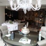 Veranda Casa Frumoasa - Restocracy - topul restaurantelor 2017 Chandelier, Restaurant, Ceiling Lights, Table Decorations, Furniture, Home Decor, Candelabra, Decoration Home, Room Decor
