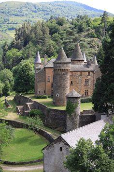 Le château du Champ à Altier en Lozère (France)