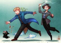 Newt and Tina