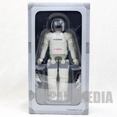 HONDA Humanoid Robot Asimo 1/8 Action Figure II with Another Hands JAPAN