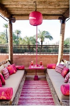 Morocco Travel Inspiration - The feel of this space... Tigmiza Suites & Pavillons (Annakhil, Marrakech, Morocco) @ BeautifulHotels.co