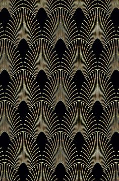 Art deco,gold,black,chic,elegant,1020's,great the Gatsby,pattern
