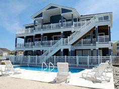 Sandbridge Beach - Semi Oceanfront Vacation Home / Siebert Realty / Virginia Beach, VA  - Top Deck -- 3501 Sandfiddler Road