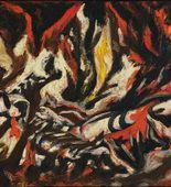 Jackson Pollock. The Flame. c. 1934-38