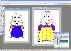 DIY-this lady made max and ruby dolls with downloadable printables and photoshop...who has photoshop i can borrow?