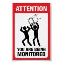 You Are Being Monitored Office Humour, Work Humor, Work Funnies, Funny Office, Office Fun, Funny Work, Work Memes, Office Ideas, Tech Quotes