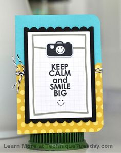 Smile Big Card