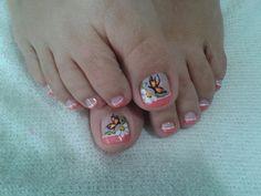 Uñas perfectas Toe Nail Designs, Toenails, Red, Blue, Perfect Nails, Saddle Pads, Pedicures, Toe Nails