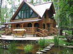 12 real log cabin homes - take a virtual tour | virtual tour, log