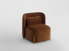 Lounge chair with an upholstered seat and back on a solid beech frame. Leather Bean Bag Chair, Leather Chairs, Bar Furniture, Furniture Design, Mesh Office Chair, Office Chairs, Lounge Seating, Lounge Chairs, Ergonomic Computer Chair