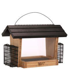 Advanced Bird Products, 6-Qt Hopper Wild Bird Feeder