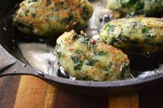 Caramelized Spinach Gnudi with Browned Butter