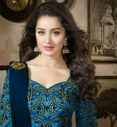 Amazing Photoshoot of Shraddha Kapoor in Anarkali Outfit Indian Celebrities, Bollywood Celebrities, Bollywood Fashion, Bollywood Stars, Beautiful Bollywood Actress, Most Beautiful Indian Actress, Prettiest Actresses, Beautiful Actresses, Indian Makeup And Beauty Blog