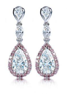 Calleija Chandelier Diamond Earrings