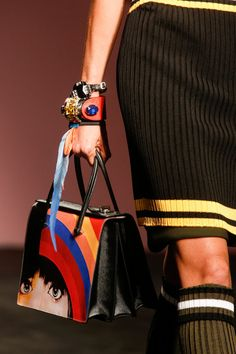 prada handbag - spring 2014 rtw - milan fashion week #mfw