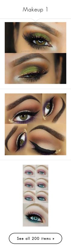 """Makeup 1"" by fashionpolice-247 ❤ liked on Polyvore featuring beauty products, makeup, eye makeup, eye look, eyeshadow, eyes, gel eye liner, gel eyeliner, face makeup and pretty"
