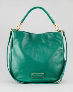 $438 MARC by Marc Jacobs Too Hot To Handle Hobo, Parrot Green