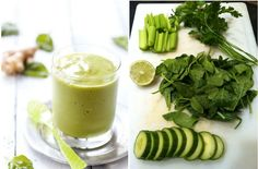 Идеальный белковый зелёный коктейль для контроля за весом