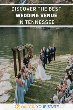 If you're looking for the best and most beautiful wedding and event venue in East Tennessee, this waterfront gem may be it. Offering indoor and outdoor weddings, you can get married next to a waterfall or in a luxury tent next to a quarry and magical garden! This unique rental is sure to result in enchanting bridal photos. Waterfront Wedding, Best Wedding Venues, Wedding Events, Enchanted Bridal, Luxury Tents, Local Photographers, East Tennessee, Local Attractions, Family Events