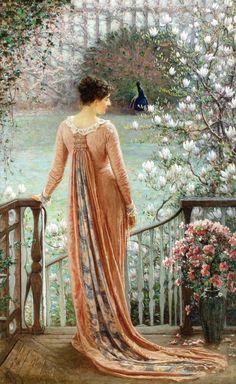 William John Hennessy (1839-1917) — A Spring Fantasy,  1880 (785×1280)
