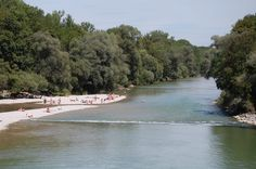 The Isar River in Munich is a famous spot in the city during summer time. People love sunbathing on the banks of the river. It's free, refreshing and very relaxing. On some spots it is even allowed to use a barbecue grill. BUT: Bathing in the Isar River is dangerous because of strong and unpredictable currents (especially in the English Garden), even if many locals do so, be very careful! Google Map of all DrupalCon Munich hot spots: http://g.co/maps/4qfyn