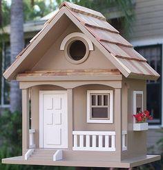 Birds Of A Feather Cafe Au Lait Cottage Birdhouse