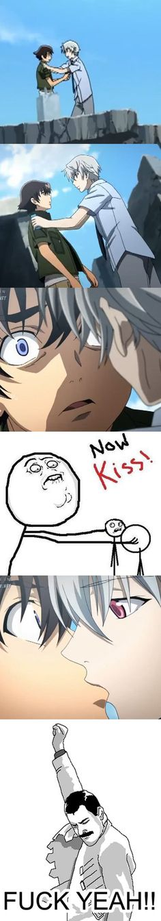 Mirai Nikki Meme - NOW KISS! by Daiasoes