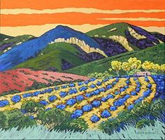 Taos Mountain In My Dream by Gene Brown - Read more at http://tavernofdreams.com/paintings/