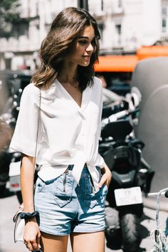 By Victoria Berezhna | Style Inspiration: How to Dress for a Heatwave - deciding what to wear when it's a blazing 28º outside ...