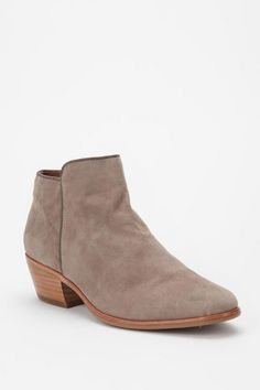 I like the idea of these tucked into incredibly skinny jeans with an oversized white button down. Sam Edelman Petty Boot, $160.00