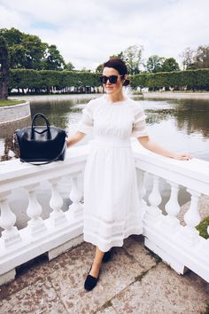 & Other Stories white lace dress Lace Dress, White Dress, White Lace, Photoshoot, Spring, Summer, Outfits, Dresses, Fashion