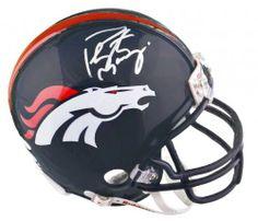 Peyton Manning Autographed Mini Helmet #SportsMemorabilia #DenverBroncos