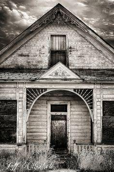 Abandoned house, Eureka, Utah