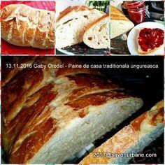 Paine de casa traditionala ungureasca   Savori Urbane French Toast, Bread, Breakfast, Cabana, Food, Bread Baking, Morning Coffee, Brot, Essen
