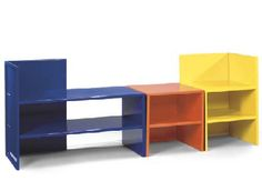 Donald Judd - Chair Shelf and Bench - 1984