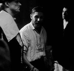 """Tommy as Alfie in """"Peaky Blinders"""" Gorgeous Men, Beautiful People, Alfie Solomons, Tom Hardy Photos, Peaky Blinders Series, Top Tv Shows, Raining Men, Cillian Murphy, Celebs"""