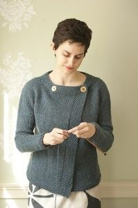 Deep Water by Carrie Bostick Hoge. Knit it in Milano for a classic transitional weather piece.