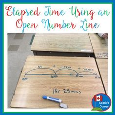 Are your 4th-6th grade students struggling with elapsed time? Try using a simple open number line to help every student meet with success. (Blog Post)