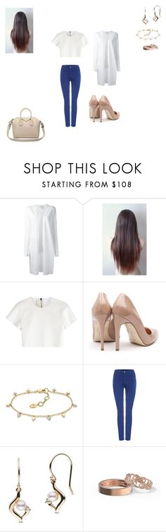 """Untitled #178"" by monroden on Polyvore featuring DKNY, Neil Barrett, Rupert Sanderson, AG Adriano Goldschmied e Givenchy"