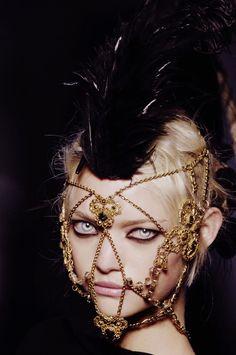 "morbid-eleganza: "" Gemma Ward for Jean Paul Gaultier """