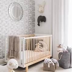 Our Rhea Crib In This Gorgeous Nursery Oeufnyc Baby Boy Rooms Bedroom