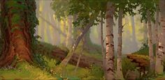 Background from Brother Bear https://www.facebook.com/CharacterDesignReferences
