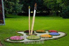 Un parterre pas comme les autres, j'en veux un dans mon jardin ! @NoeliaMaria Félix Mendoza Medina Félix Ortiz Morales