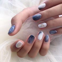 Photo of Nail Leisure - Arcadia, CA, United States Stylish Nails, Trendy Nails, Cute Nails, Pretty Nail Designs, Nail Art Designs, Nail Manicure, Nail Polish, Korean Nail Art, Nails Now