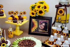 Sunflower themed party ideas